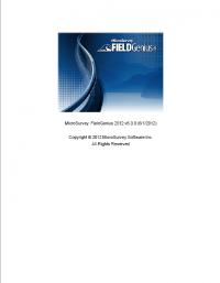 Geotools Europe GNSS Kft - Prospektus - Kezelési kézikönyv Field Genius EN