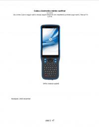 Geotools Europe GNSS Kft - Prospektus - Kezelési kézikönyv STONEX CUBE-a Androidos szoftver SH5A HUN