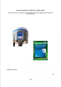 Geotools Europe GNSS Kft - Prospektus - Kezelési kézikönyv STONEX SurvCE szoftver S10 GNSS vevővel HUN