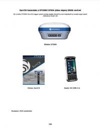 Geotools Europe GNSS Kft - Prospektus - Kezelési kézikönyv STONEX SurvCE S700A GNSS vevővel Nautiz X8 HUN