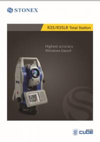 Geotools Europe GNSS Kft - Prospektus - Kezelési kézikönyv STONEX R35 R35LR Total Station EN