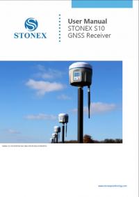 Geotools Europe GNSS Kft - Prospektus - Kezelési kézikönyv STONEX S10 GNSS Receiver User Manual EN
