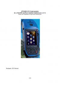 Geotools Europe GNSS Kft - Prospektus - Kezelési kézikönyv STONEX S7D és GeoGlS szoftver HUN