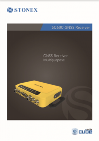 Geotools Europe GNSS Kft - Prospektus - Kezelési kézikönyv STONEX SC600 GNSS Receiver EN