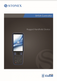 Geotools Europe GNSS Kft - Prospektus - Kezelési kézikönyv STONEX SH5A Controller Rugged Handheld Device EN