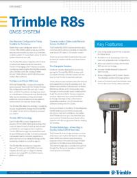 Geotools Europe GNSS Kft - Prospektus - Kezelési kézikönyv TRIMBLE R8s GNSS System EN