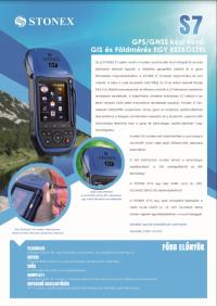 Geotools Europe GNSS Kft - Prospektus - Kezelési kézikönyv STONEX S7 GPS GNSS HUN